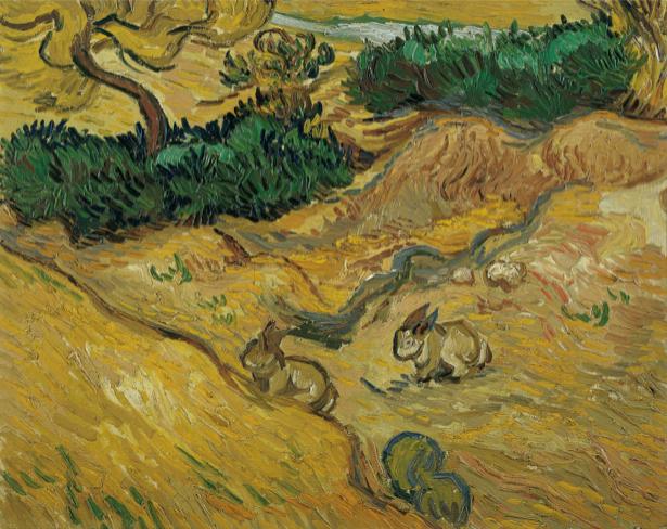 Ван Гог пейзаж (art-0000186)