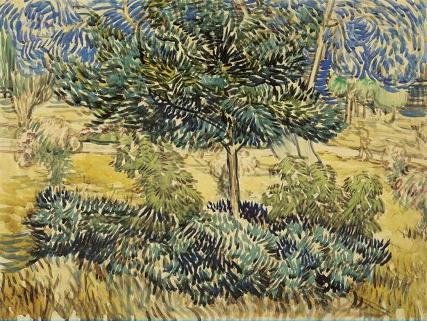 Ван Гог пейзаж (art-0000277)