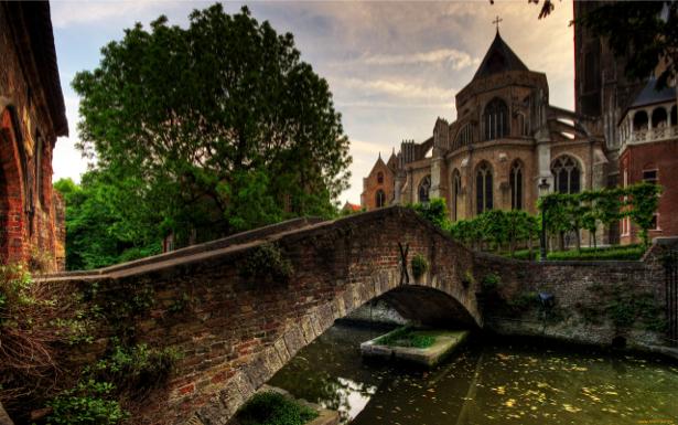Фотообои Брюгге, Бельгия (city-0000054)