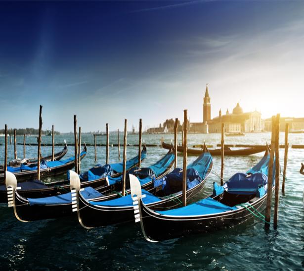 Фотообои Венеция, город, гондола (city-0000421)