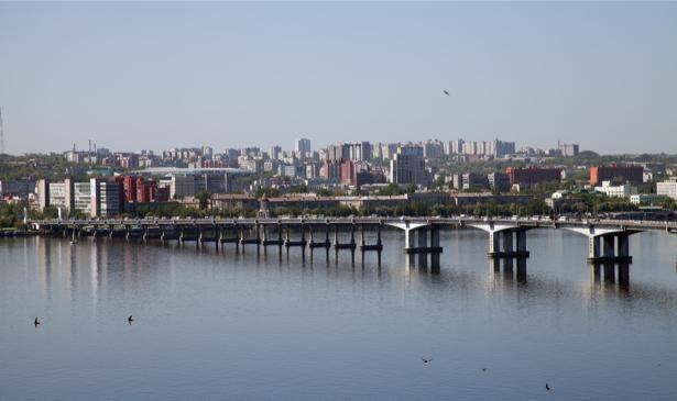 Фотообои Днепропетровск, Днепр, Украина (city-0000833)
