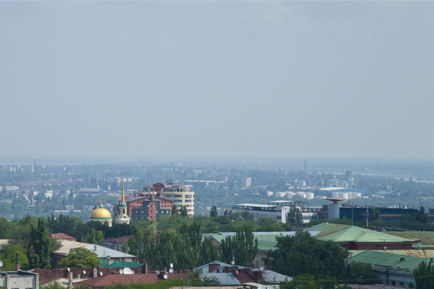 Фотообои Днепр Украина вид (city-0000903)