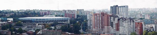 Фотообои Днепропетровск стадион (city-0000942)