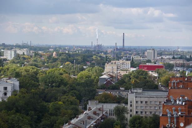 Фотообои город Днепропетровск пейзаж (city-0000947)