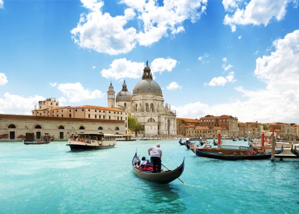 Фотообои Венеция венецианские лодки (city-0001008)