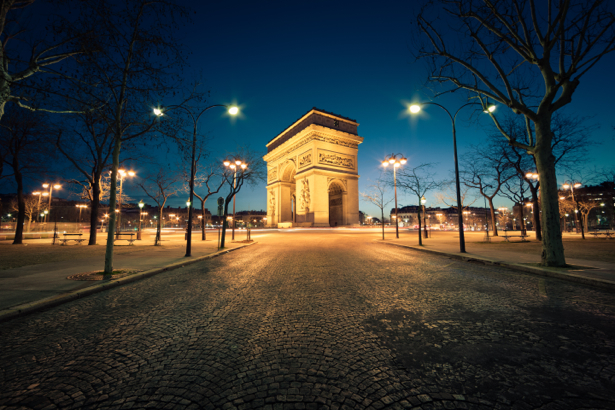 Фотообои триумфальная арка фото (city-0001045)