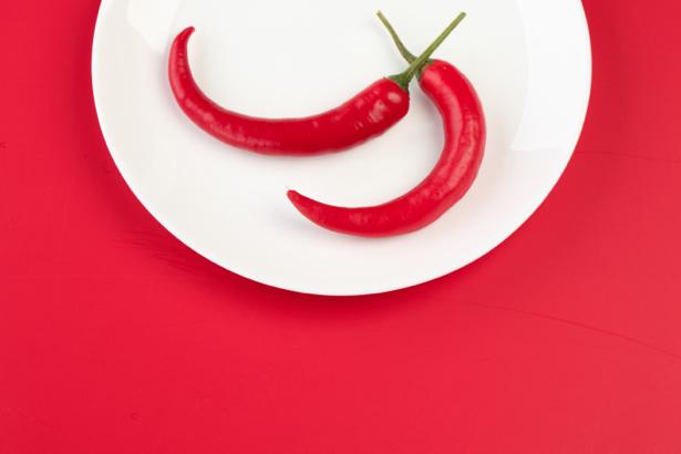 Красный фотообои для кухни перец (food-0000046)