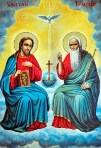 икона Святая Троица (icon-00064)