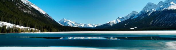 Фотообои природные пейзажи горное озеро (nature-00152)