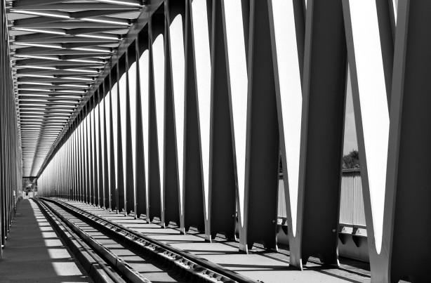 Фотообои мост в перспективе (sp17)