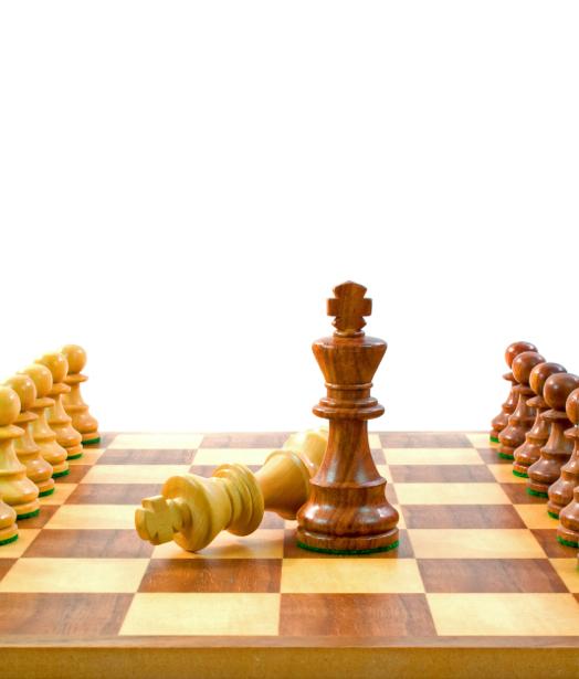 Фотообои Шахматная доска шахматы (sport-0000115)