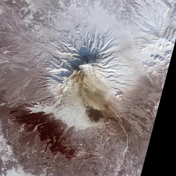 Фотообои на стену горные рисунки (terra-00210)