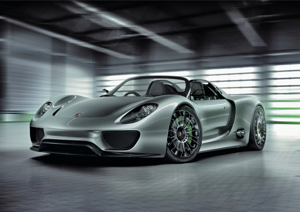 Фотообои porsche 918 spyder (transport-0000102)