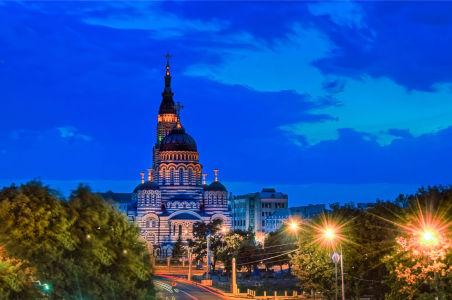 Фотообои Благовещенский собор в Харькове (ukr-5)