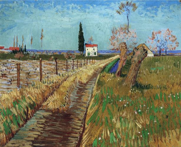 Ван Гог пейзаж (art-0000232)