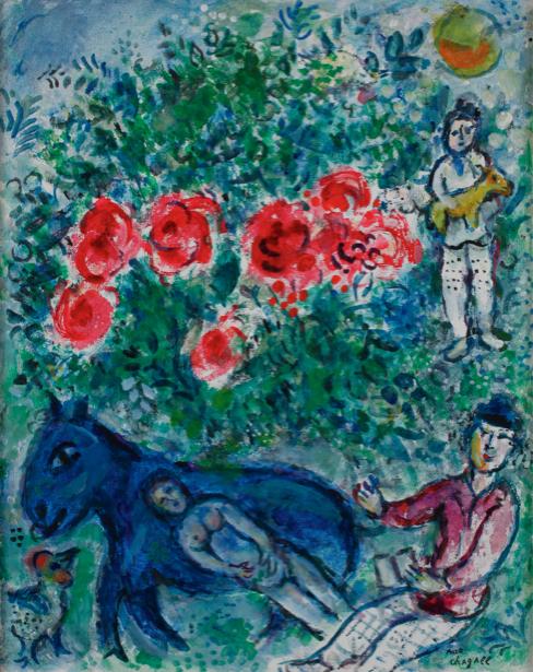 Шагал, авангард (art-0000370)