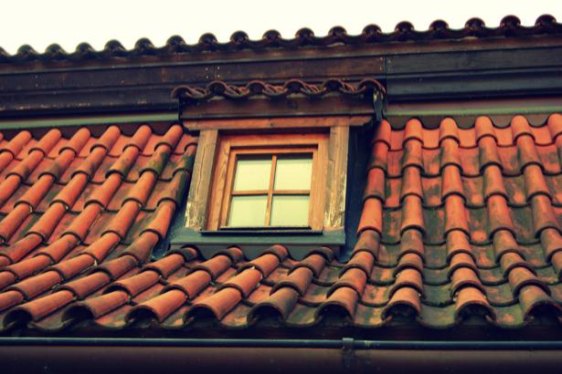 Фотообои старая крыша (background-0000243)