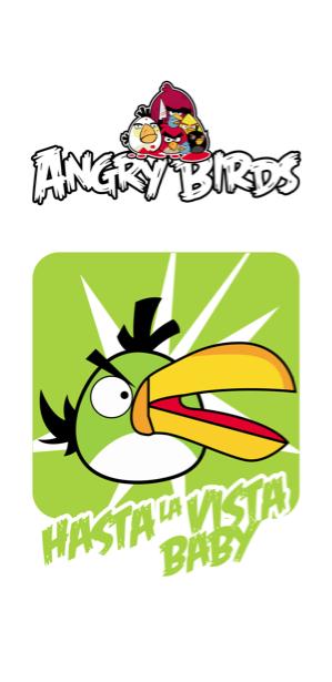 Angry birds Злые птицы фотообои (children-0000154)