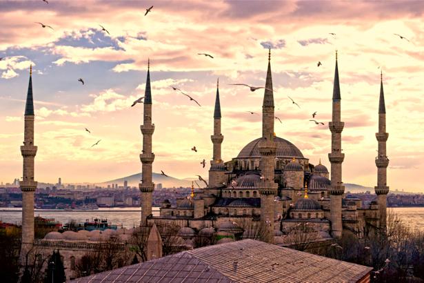 Фотообои Стамбул Турция храм Святой Софии (city-0000104)