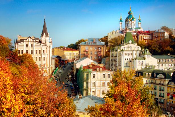 Фотообои Украина Киев (city-0000297)