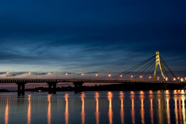 Фотообои мост, ночь, архитектура (city-0000300)