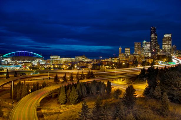 Фотообои Сиэтл, Вашингтон, США, Америка (city-0000356)