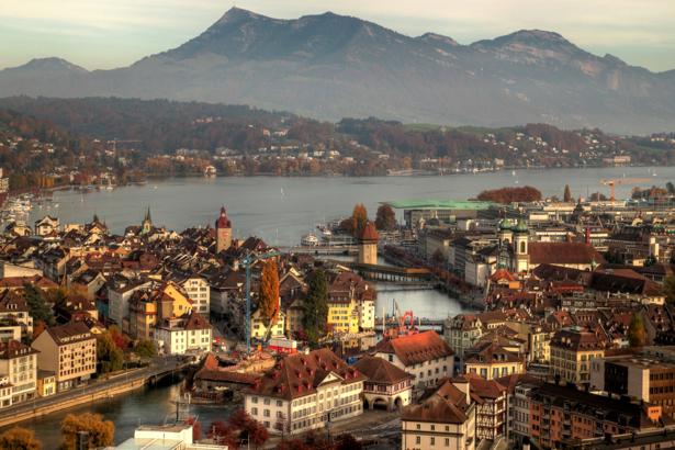 Фотообои Люцерн Швейцария (city-0000565)