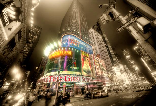 Нью-Йорк Америка небоскребы Фотообои (city-0000610)