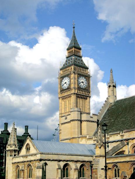 Фотообои Лондон парламент Биг Бен (city-0000729)
