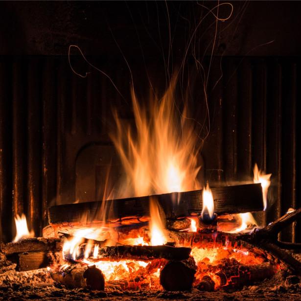 Фотообои Пыляющий огонь (fire-004)