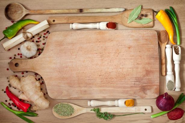 Фотообои для кухни кухонный стол (food-0000178)