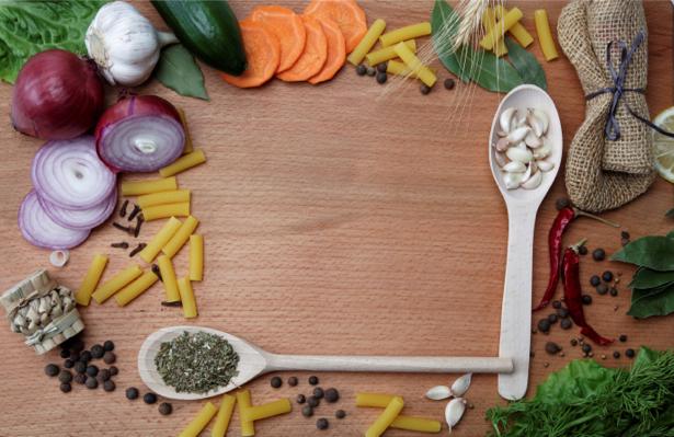 Фотообои в кухню кухонная композиция (food-0000253)