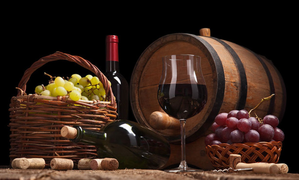 Фотообои Натюрморт с вином (food-371)