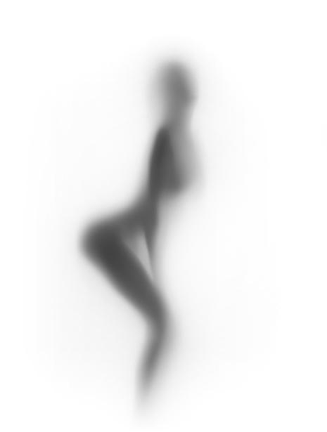Фотообои фигура девушки в контражуре (glamour-0000163)