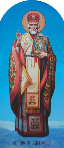 Икона Святой Николай Чудотворец (icon-00016)