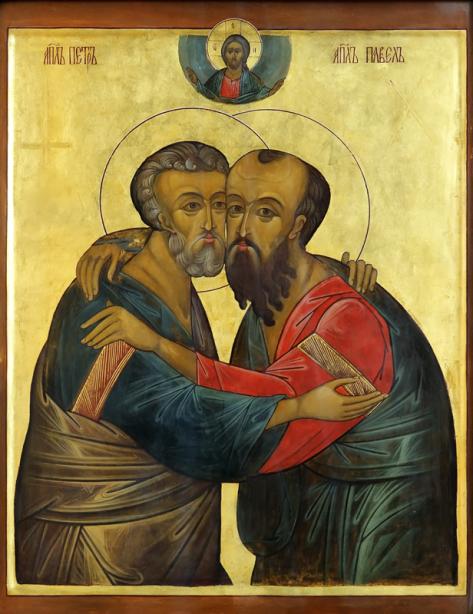 Икона Святых Петра и Павла (icon-00091)