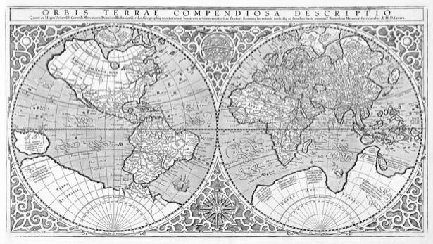 атлас, география, карты, старая карта (map-0000074)