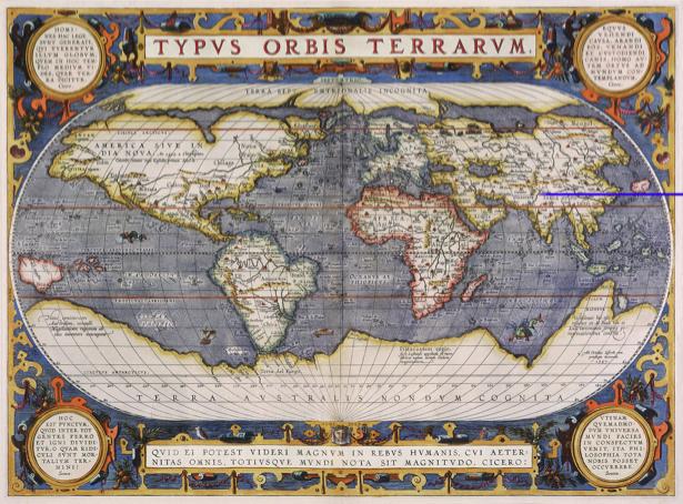 атлас, география, карты, старая карта (map-0000075)