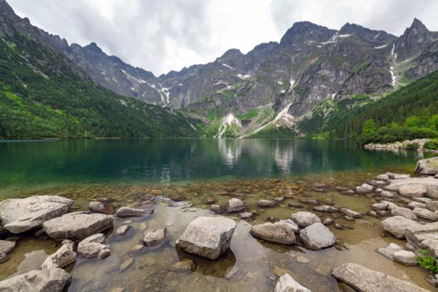 Фотообои горное озеро (nature-0000790)