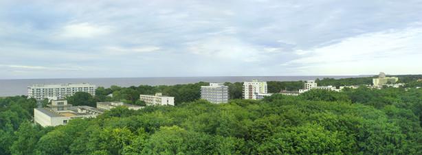 Фотообои панорама города на реке (panorama_0000033)