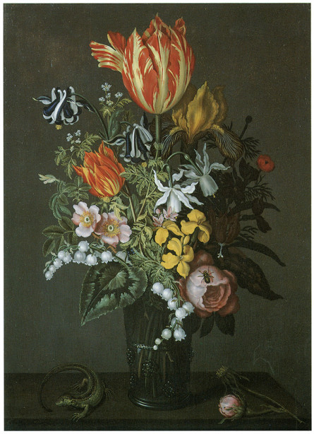 Картина с цветами букет (pf-15)