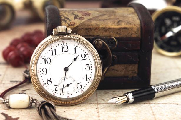 Фотообои старинные часы (retro-vintage-0000022)