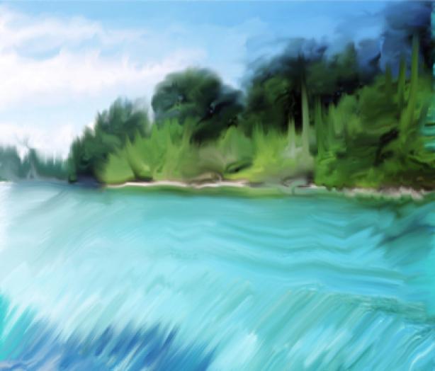 Фотообои живописный вид на море (sea-0000117)