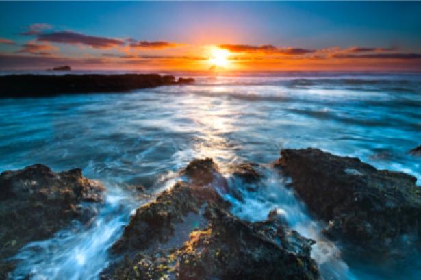 Фотообои закат на море фото (sea-0000148)