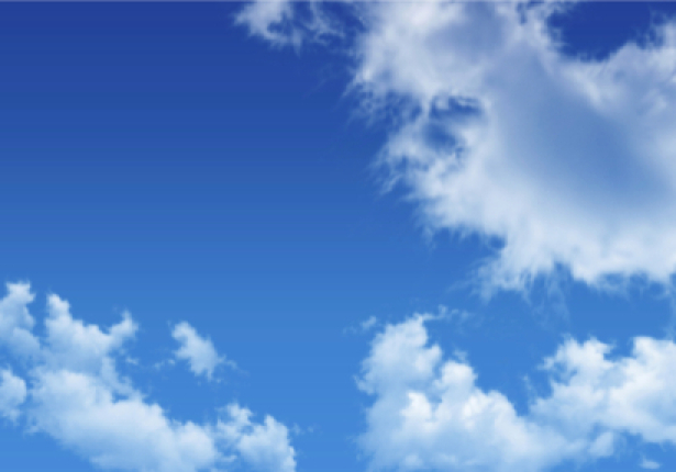 Фотообои голубое небо фото 02 (sky-0000101)