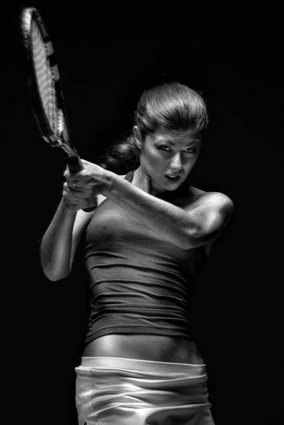 Фотообои большой тненнис теннисистка (sport-0000012)