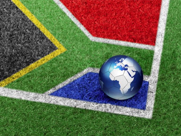 Фотообои футбол мяч на футбольном поле (sport-0000017)