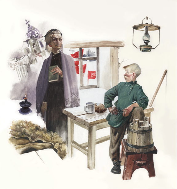 Иллюстрации к произведениям Валерьяна Петровича Пидмогильного (ukraine-0129)