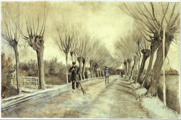 Ван Гог пейзаж (art-0000246)