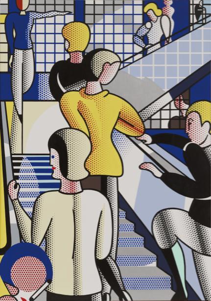 Рой Лихтенштейн, поп-арт (art-0000644)